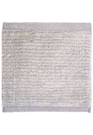 Ribbed Mohair - Silver